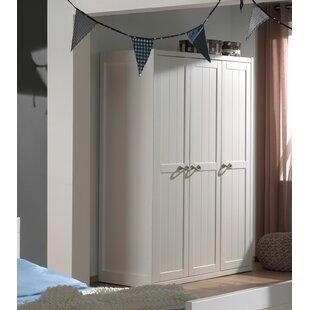 Anthony 3 Door Wardrobe By Harriet Bee