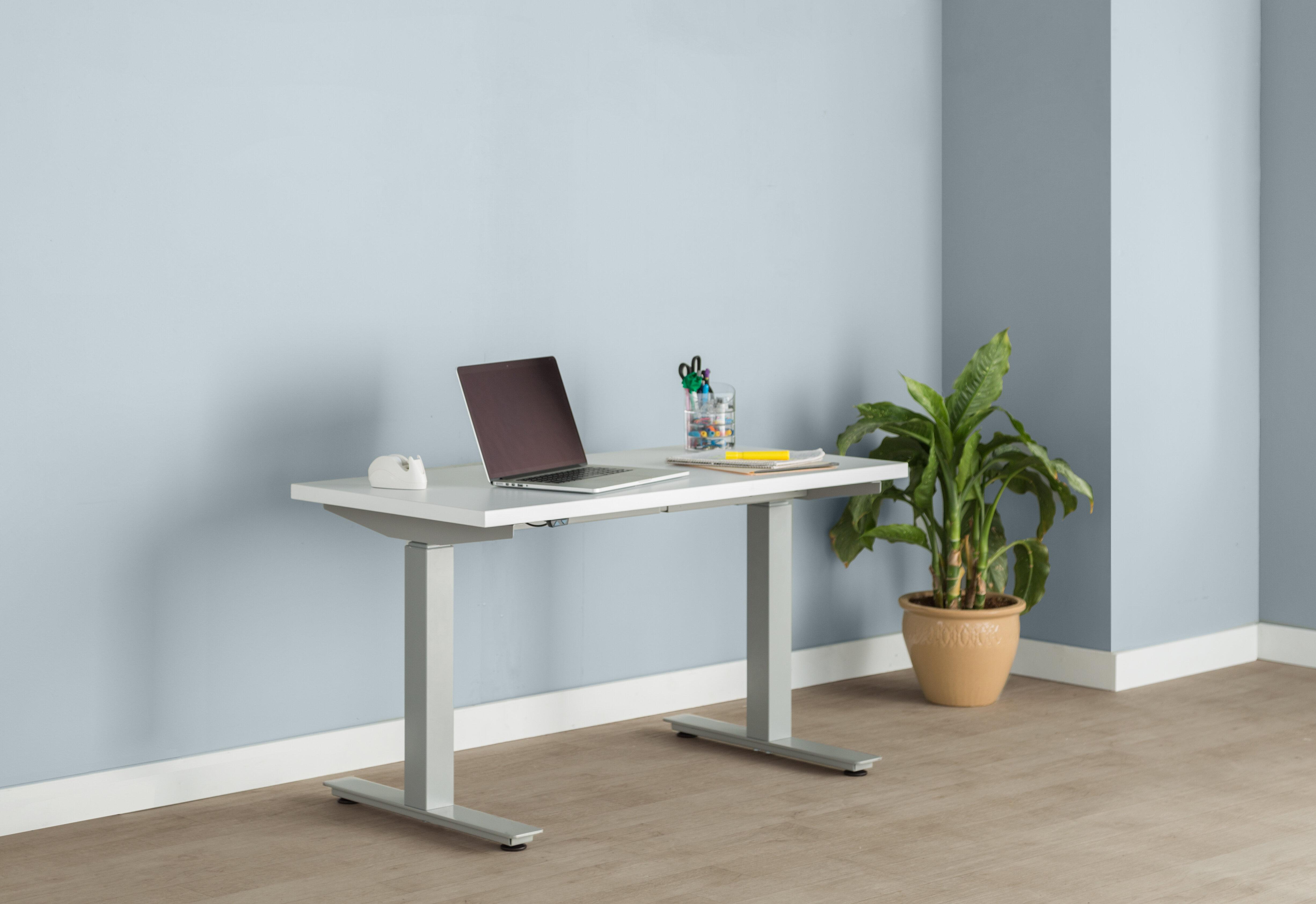 Trendway Express Height Adjustable Standing Desk Wayfair