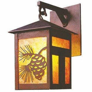 Steel Partners Mission 1-Light Outdoor Wall Lantern