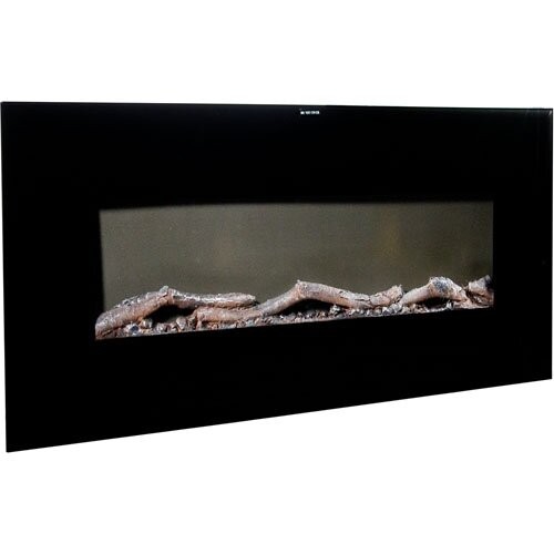 Warm House Valencia Extra Wide Wall Mount Electric Fireplace ...