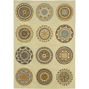 Bulger Beige/Gray/Brown Indoor/Outdoor Area Rug