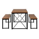 Doti 3 - Piece Dining Set (Set of 3) by Latitude Run®