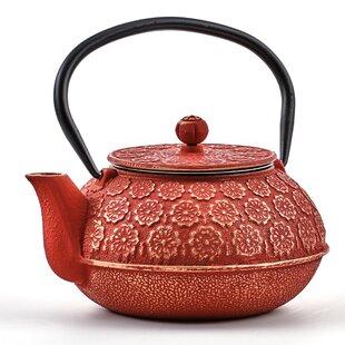 Cherry Blossom 0.69-qt. Teapot
