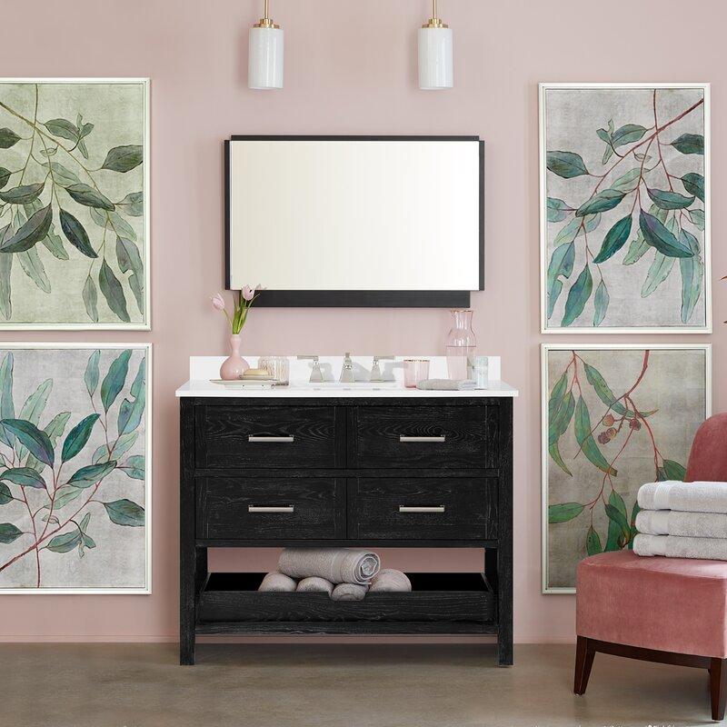 Martha Stewart Perry St Hillcrest 42 Single Bathroom Vanity Set Wayfair