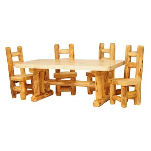 Hilary 5 Piece Dining Set Loon Peak