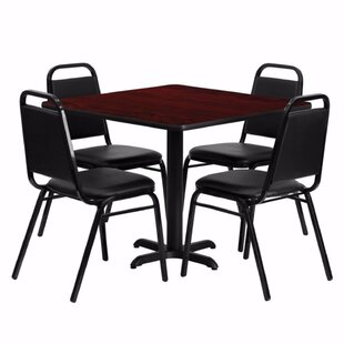Mauney Square Laminate 5 Piece Dining Set