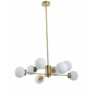 Corrigan Studio Durrah 8-Light Chandelier