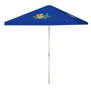 Best of Times Margaritaville 6' Square Market Umbrella