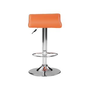 Hunstanton Height Adjustable Swivel Bar Stool (Set Of 2) By Metro Lane