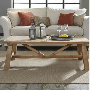 Stambaugh Reclaimed Wood Coffee Table Millwood Pines