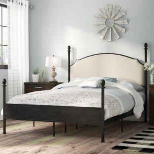 Where buy  Granite Range Upholstered Four Poster Bed by Laurel Foundry Modern Farmhouse Reviews (2019) & Buyer's Guide