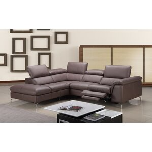 Florie Reclining Sectional by Orren Ellis