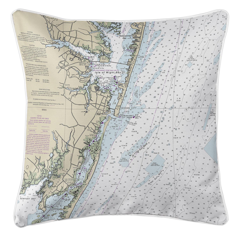 Longshore Tides Viggo Ocean City Md Throw Pillow Wayfair