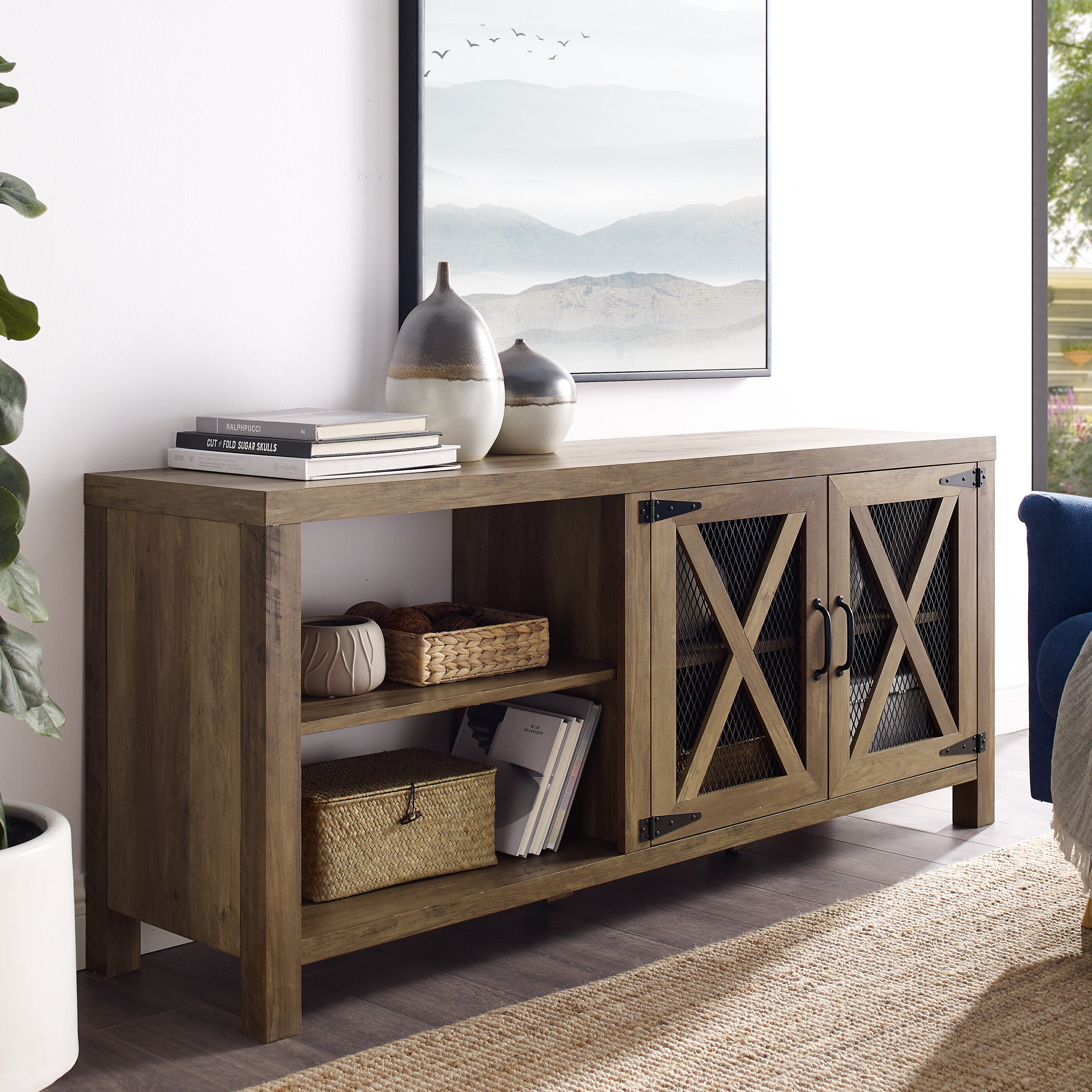 Gracie Oaks Tansey Tv Stand For Tvs Up To 65 Reviews Wayfair