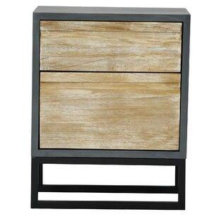 Bretz 2 Drawer Accent Cabinet ..
