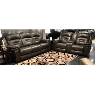 Avatar 2 Piece Leather Reclining Living Room Set by Southern Motion