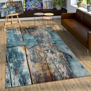 Teppiche Blau Zum Verlieben Wayfair De