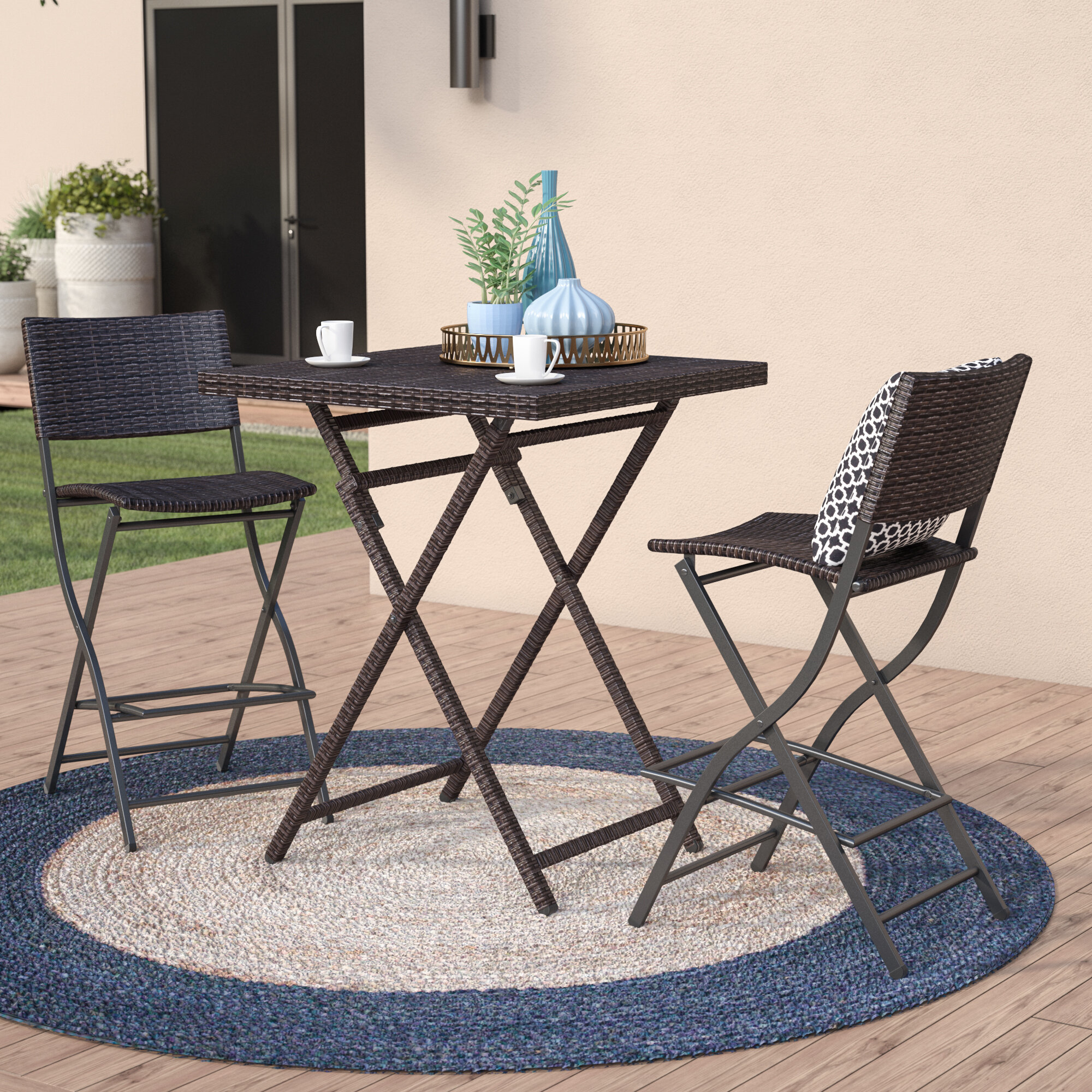 BETTY Tables Outdoor Folding Table and Chair Set Wild Portable Barbecue 3-7 Piece Set Household Aluminum Table and Chair Combination Color : A - 1 Cloth Table+4 Chairs