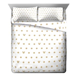 Minnie Mouse Dots 4 Piece Sheet Set