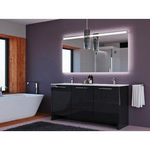 Find Westward 63 Double Bathroom Vanity Set with Mirror ByOrren Ellis