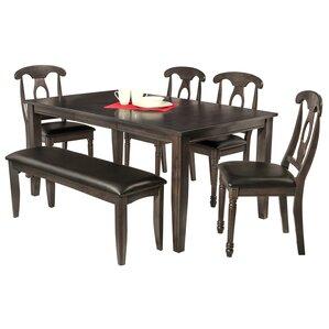 Aden 6 Piece Dining Set by TTP Furnish