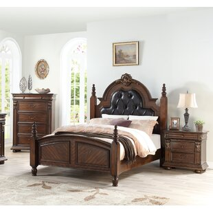 Richfield Upholstered Four Poster Bed by Astoria Grand