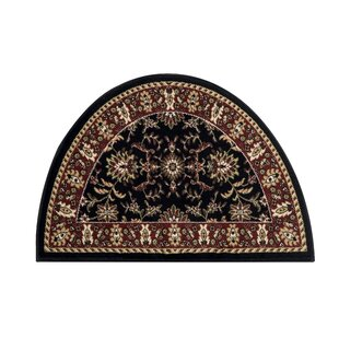 Savings Fanchon Beautiful Hearth Slice Black Indoor/Outdoor Area Rug By Astoria Grand