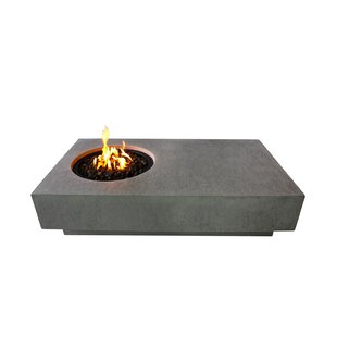 Concrete Propane Fire Pit Table Image