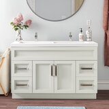 Syble 48 Double Bathroom Vanity Set by Ebern Designs