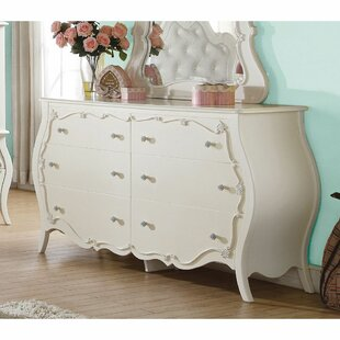 Glenlee 6 Drawer Double Dresser