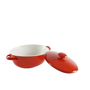 Sienna Oval Bakeware with Lid (Set of 2)