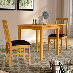 Kyle Extenable Dining Set With 2 Chairs By Home & Haus
