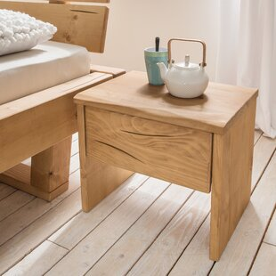 Maeve 1 Drawer Bedside Table By Union Rustic