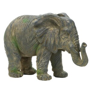 Weathered Elephant Statue by Zingz & Thingz