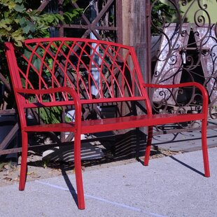 Innova Hearth and Home Lancaster Steel Garden Bench