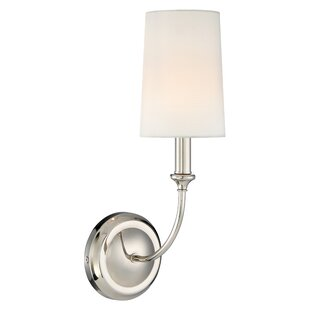 Reviews Barnaby 1-Light Wall Sconce By Darby Home Co