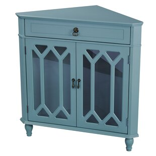 Loughborough 2 Door Corner Accent Cabinet