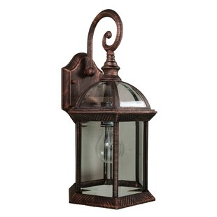 Copper outdoor wall lighting youll love wayfair copper outdoor wall lighting mozeypictures Images