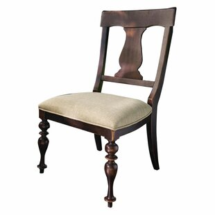 Sierra Side Chair in Linen (Set of 2) Alcott Hill