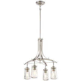 Brayden Studio Omeara 4-Light Shaded Chandelier