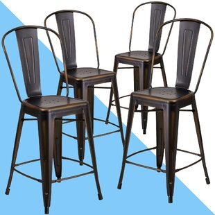 Clarita Counter & Bar Stool (Set of 4) by Hashtag Home