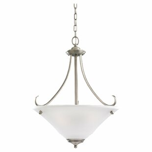 Darby Home Co Culley 3-Light Bowl Pendant