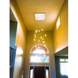 Orren Ellis Mccoin LED Cluster Pendant