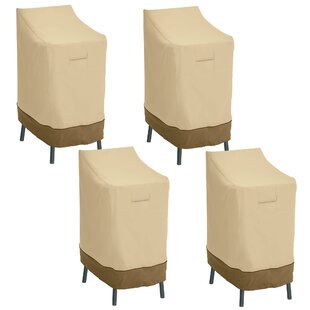 Red Barrel Studio Croteau Patio Chair Cover (Set of 4)