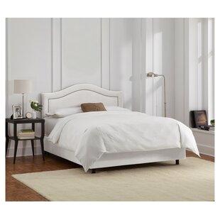Limoges Upholstered Panel Bed by Skyline Furniture