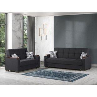 Aldas 2 Pieces Living Room Set by Ebern Designs