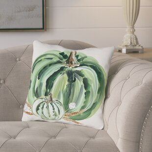 Brawley Pumpkins Throw Pillow by Gracie Oaks #2