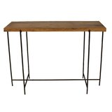 Mishler 43 Solid Wood Console Table by Williston Forge
