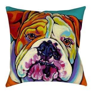 Maggie Indoor/Outdoor Throw Pillow