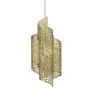 Oggetti Zedd 1-Light Novelty Pendant